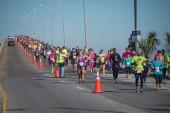 Double Bridge Run Race Day, Saturday Feb. 7, 2015 Pensacola, FL.